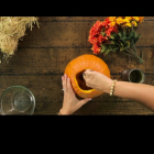 Halloween Hacks: Witch's Hat Cookies & Pumpkin Vase