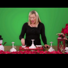 From TLC: Holiday Hacks: Festive Centerpieces