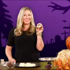 Halloween Hacks-- Spider Cookies and Glowing Jars