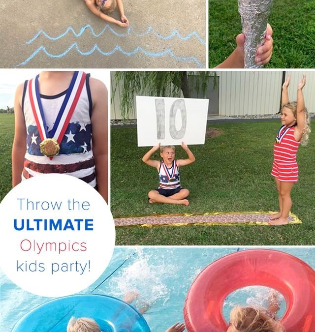 How a trip to the dollar store can bring Olympic fun to your backyard– My Today Show Post