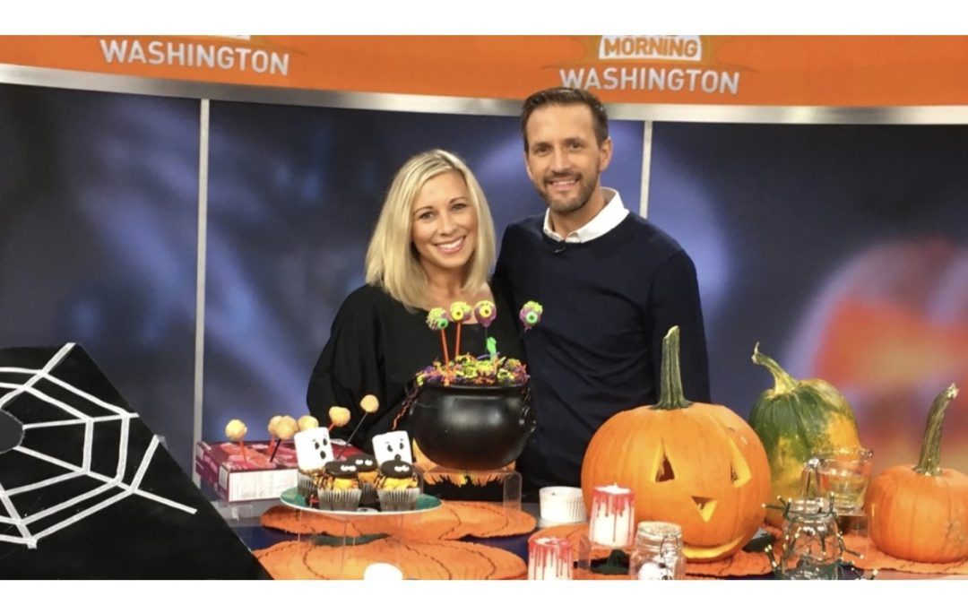 Halloween Hacks on Good Morning Washington